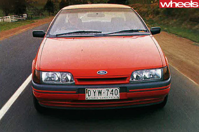 1989-ford -falcon -front -driving