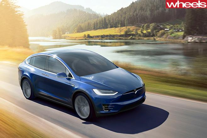 Tesla -Model -X-driving -side