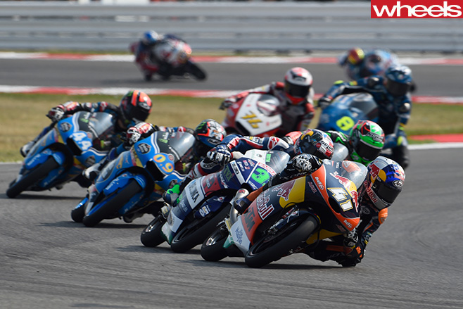 Moto Gp -field -racing