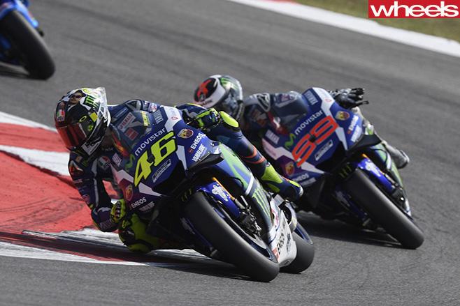 Motogp -Valentino -Rossi -leads