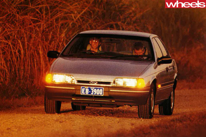1991-Ford -Falcon -front -driving