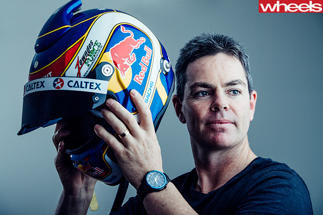 Craig -Lowndes -V8-Supercars -with -helmet