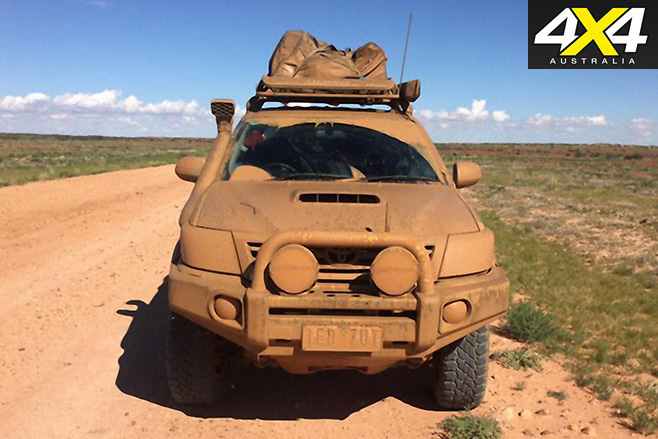 Dirty toyota hilux