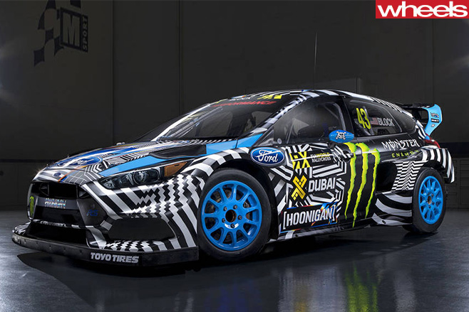 Ford -Focus -RS-hoonigan -car