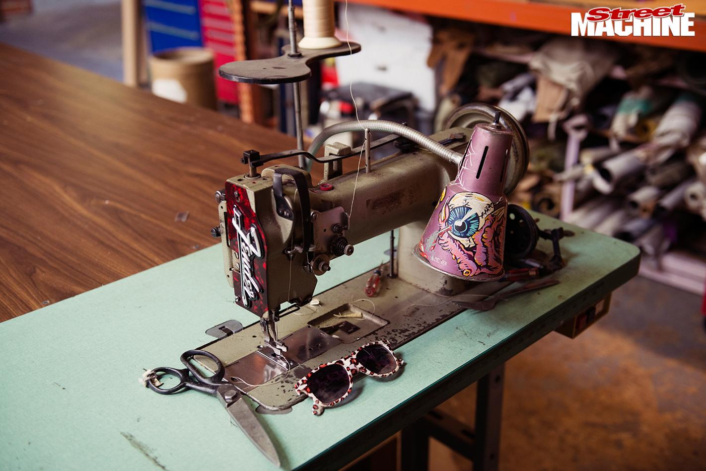 Sean -johnstun -sewing -machine