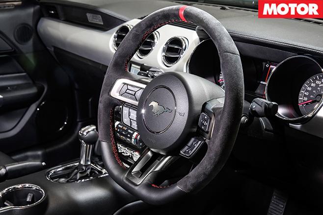 Herrod -Motorsport -Ford -Mustang -steering