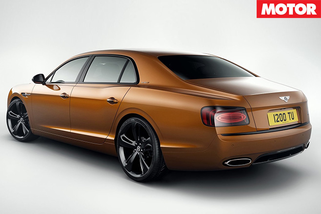Bentley Flying Spur W12 S rear
