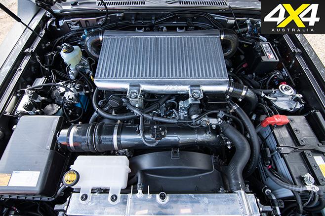 Toyota LandCruiser 79 engine