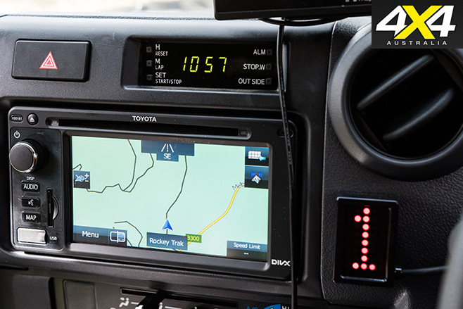 Toyota LandCruiser 79 interior