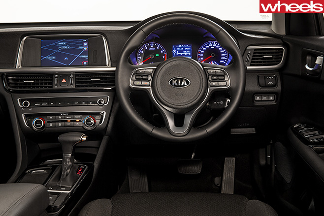 Kia -Optima -GT-interior