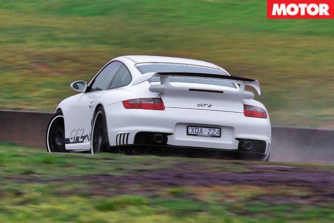 Porsche gt2 rear