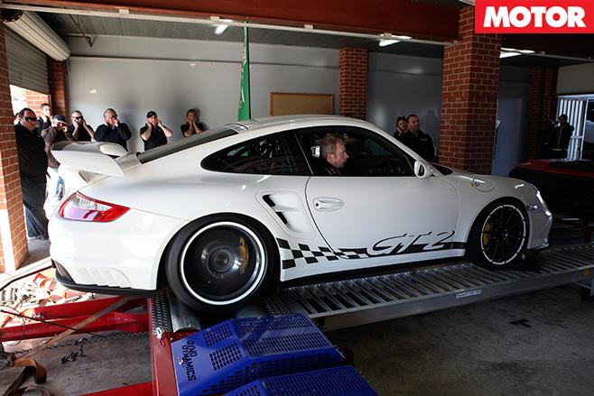 Porsche gt2 side