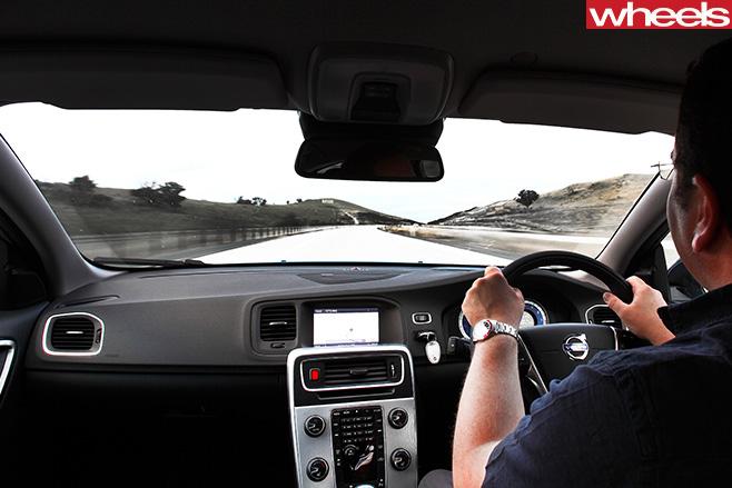 Ben -Oliver -speeding -down -hume -highway