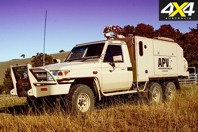 APVs LRPV Front