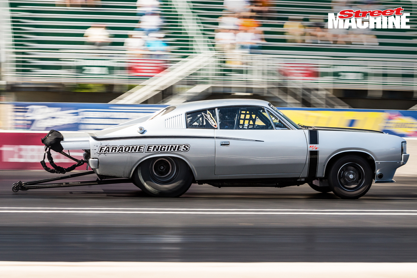 Valiant Charger John Faraone Drag Week 1