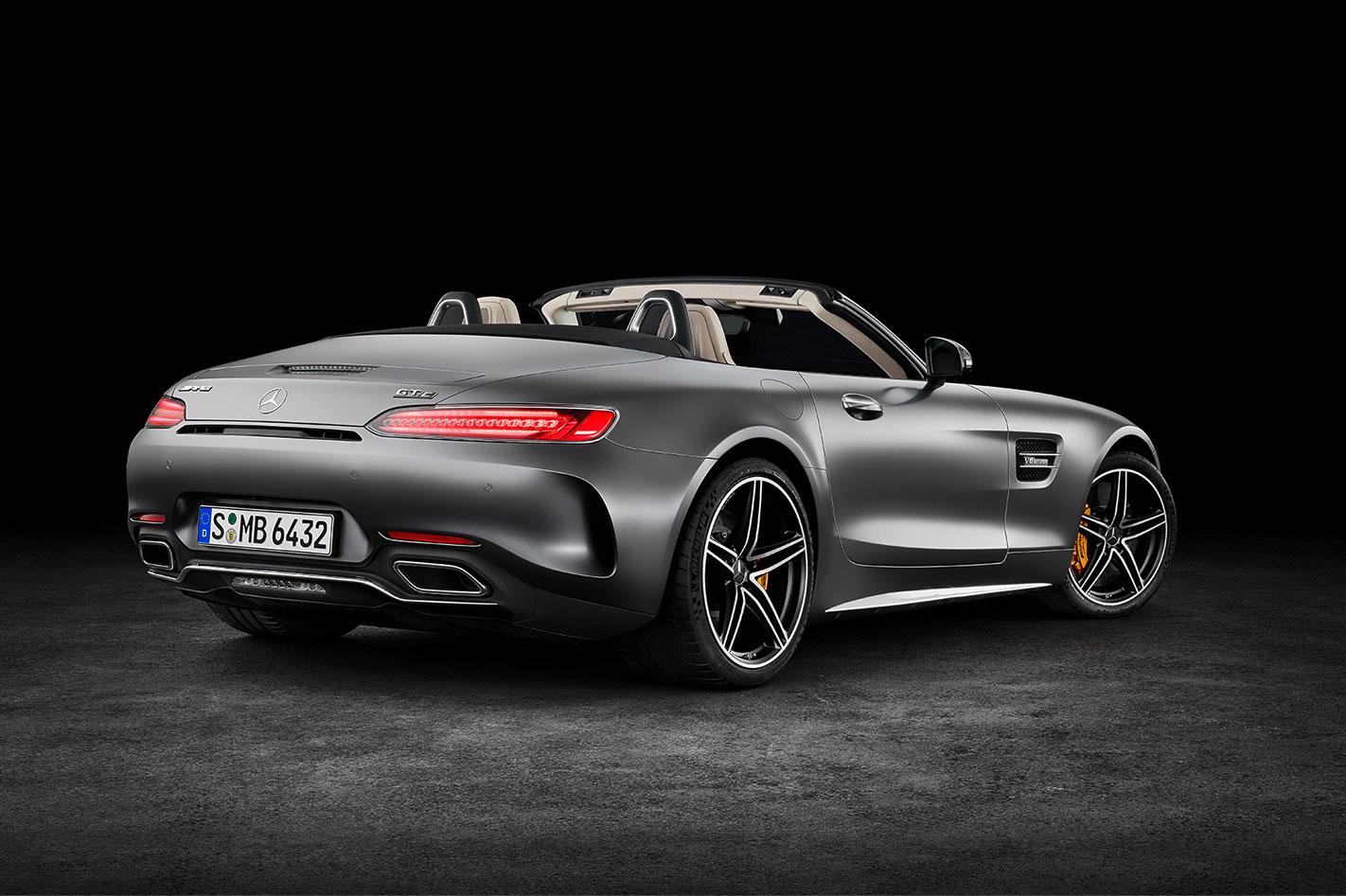 Mercedes-AMG GT C Roadster rear