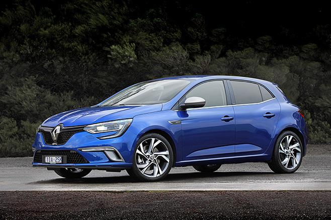 Renault megane GT front