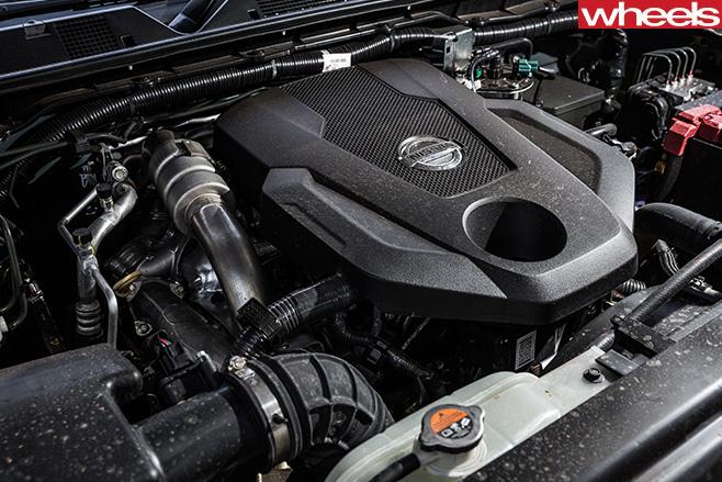 Nissan -Navara -engine