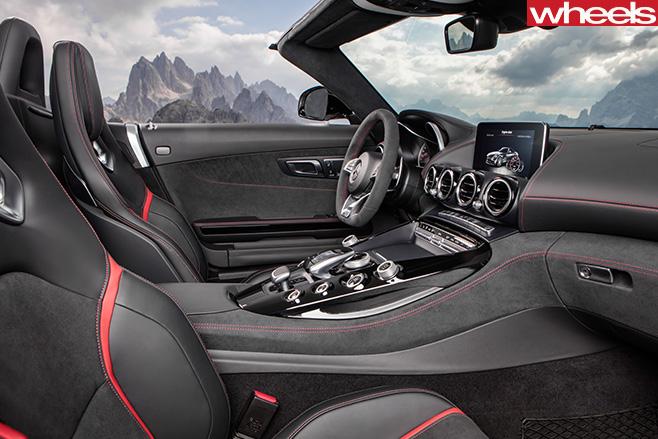 Mercedes -AMG-GT-interior