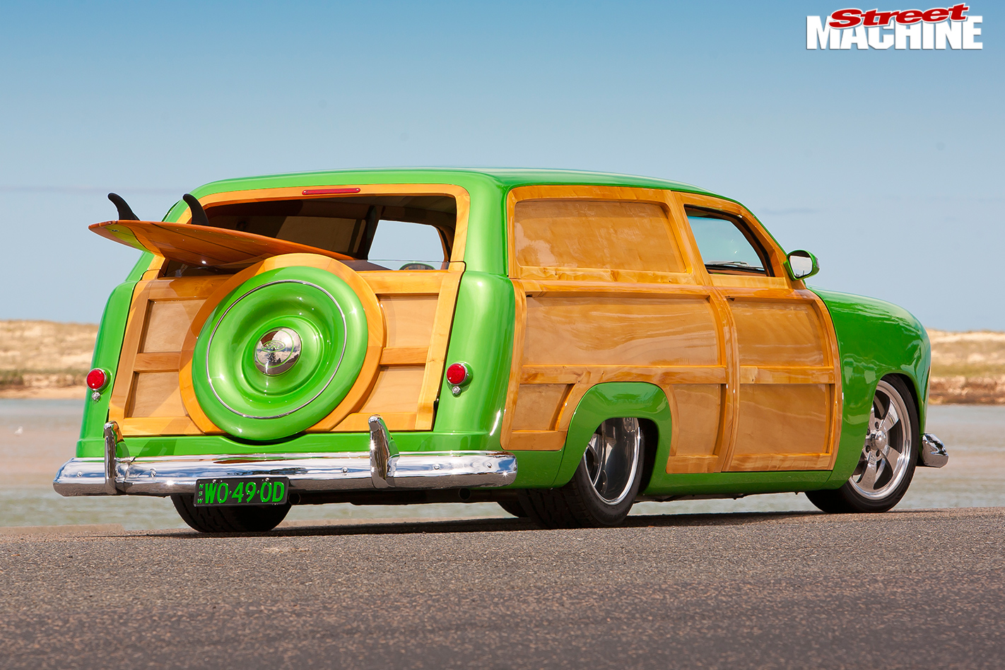 Ford -woody -rear -angle