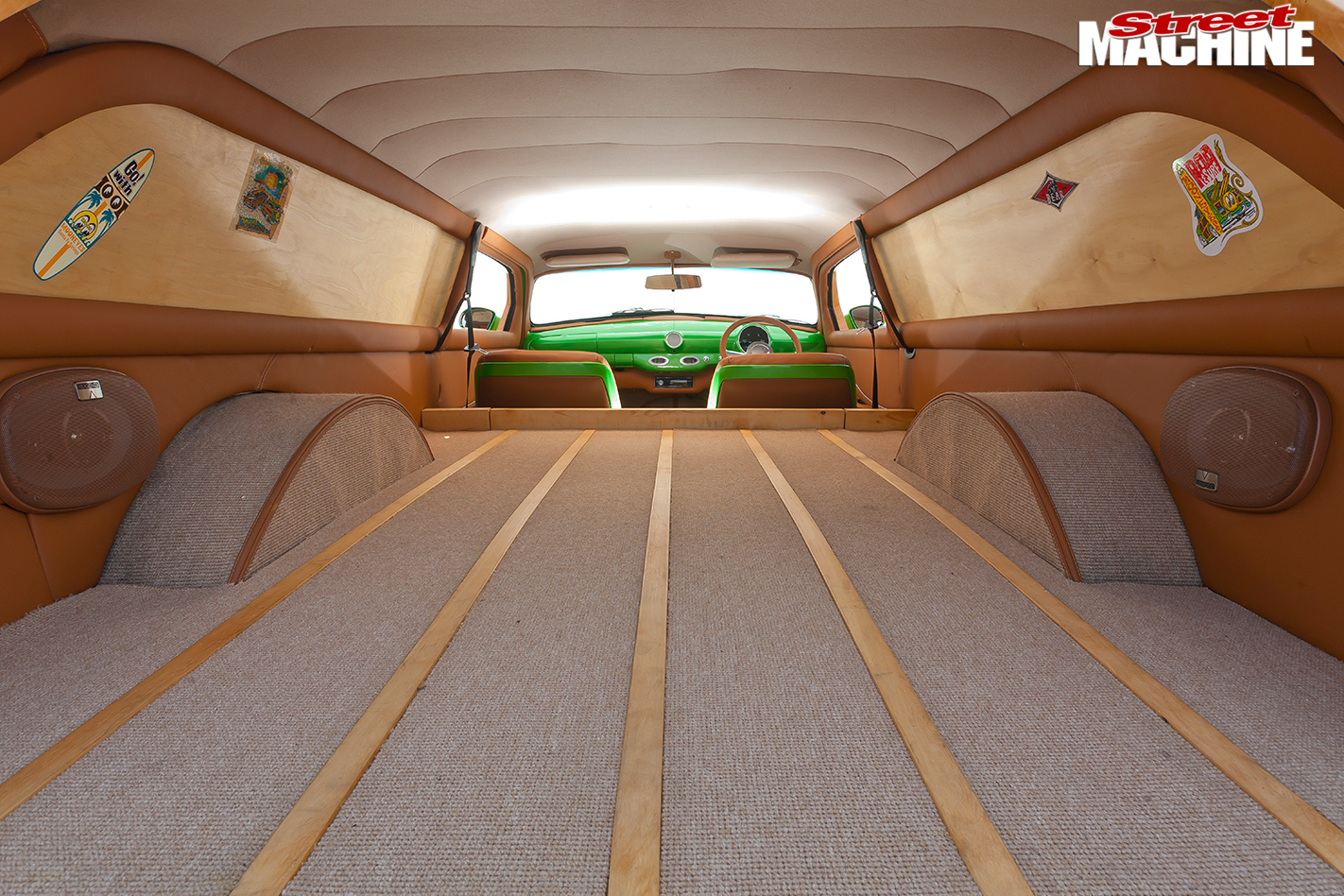 Ford -woody -interior -rear