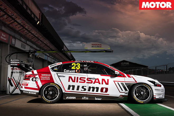 Nissan nismo side