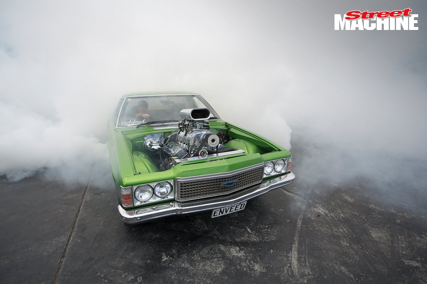HZ Holden Blown Burnout