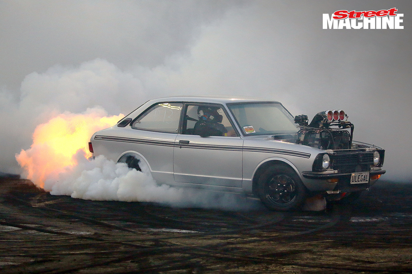 Toyota Corolla ULEGAL Burnout