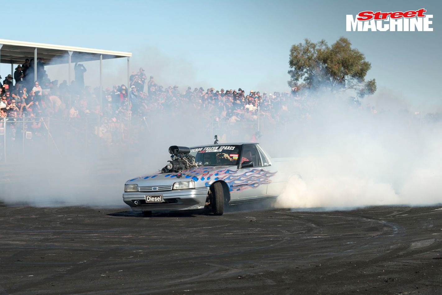 Falcon Ute Blown Burnout DIESEL