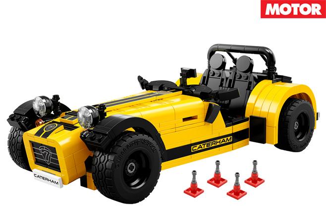 Lego Caterham Seven 620R built