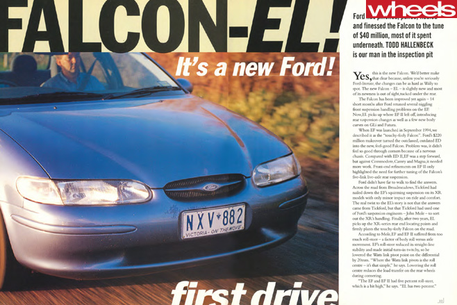 1996-Ford -EL-Falcon -Wheels -Magazine