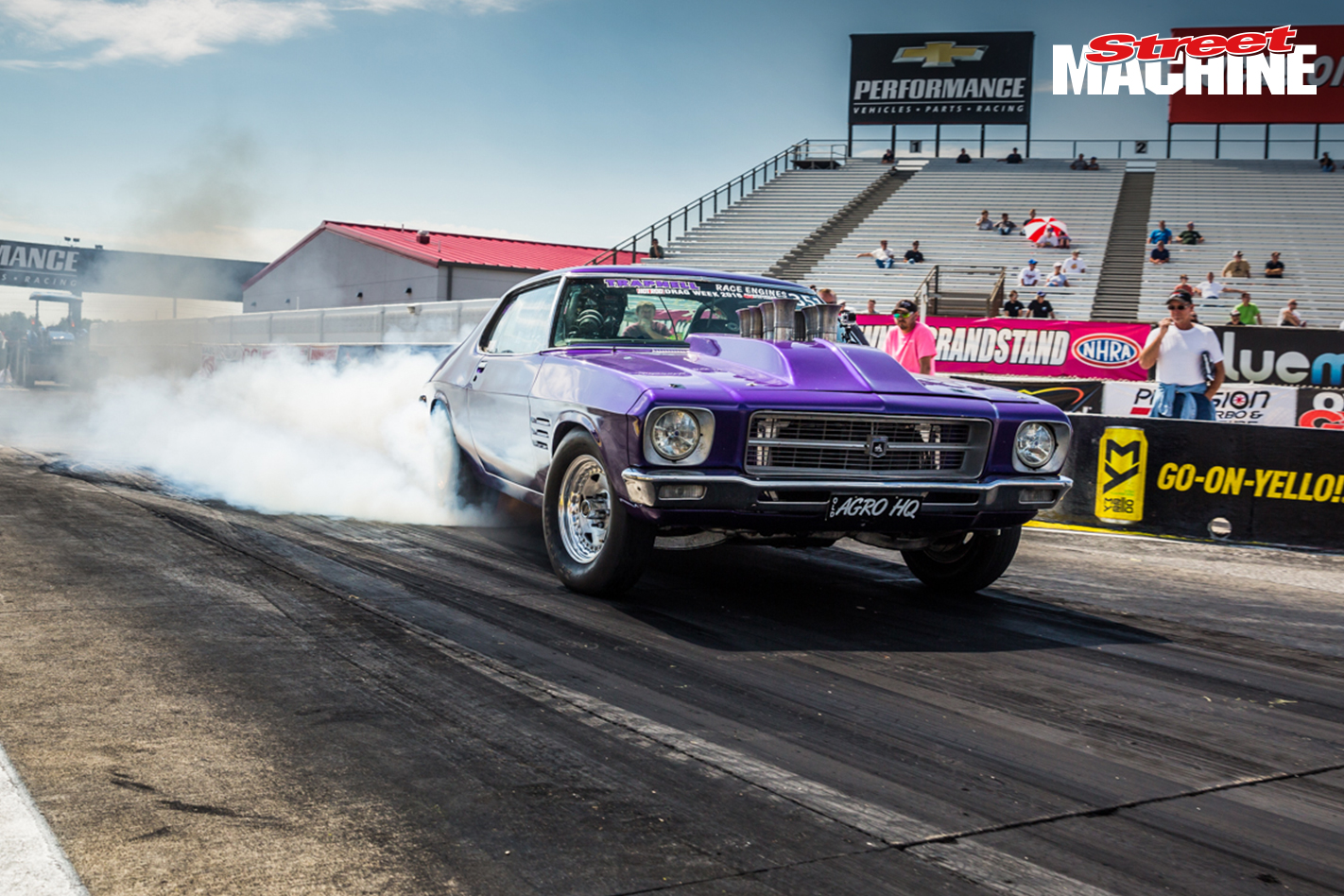 HQ Monaro AGROHQ Drag Week