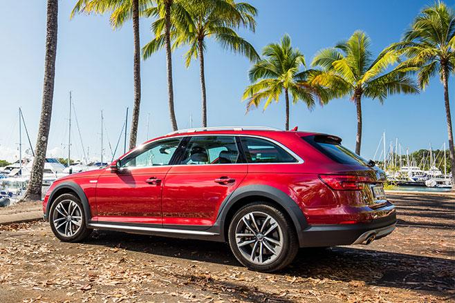 2017-Audi -A4-Allroad -Quattro -rear