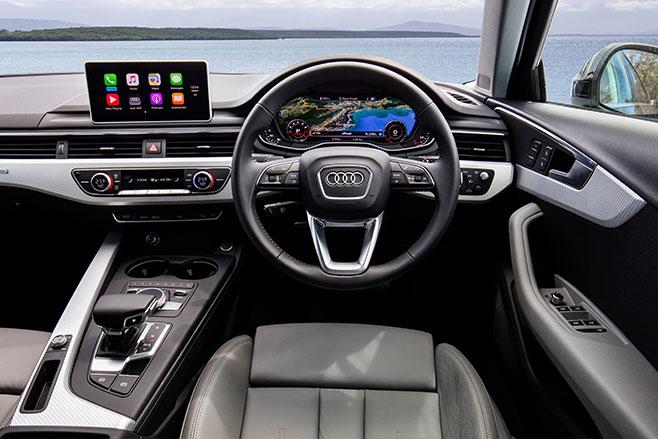2017-Audi -A4-Allroad -Quattro -interior
