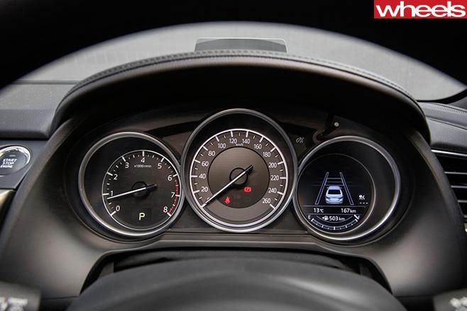 Mazda -6-driving -gaugesjpg