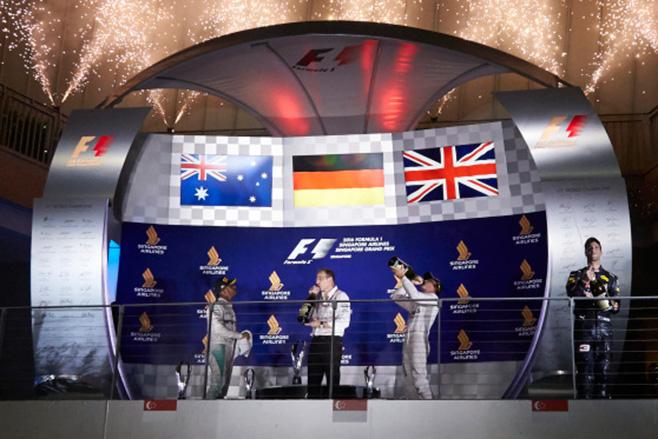 2016-Singaprore -Grand -Prix -podium
