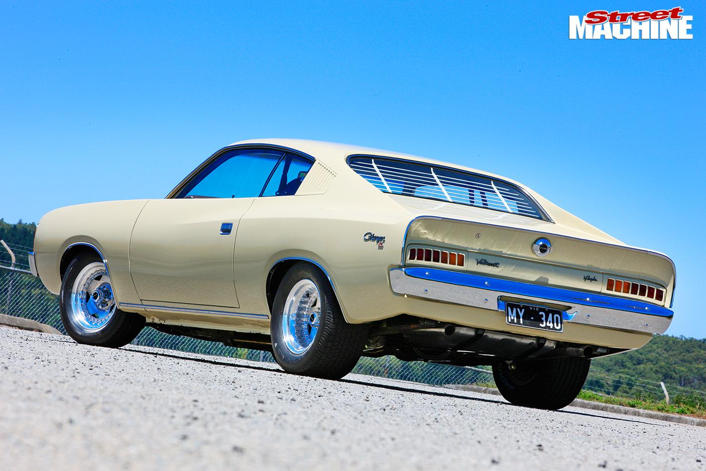 Chrysler -charger -rear