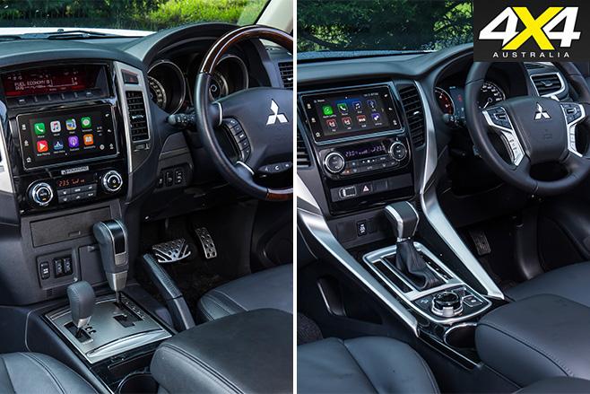 Mitsubishi Pajero interiors