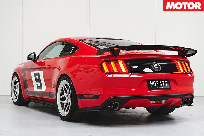 Ford Mustang Allan Moffat Edition rear
