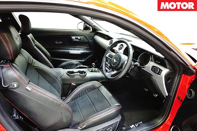 Ford Mustang Allan Moffat Edition interior