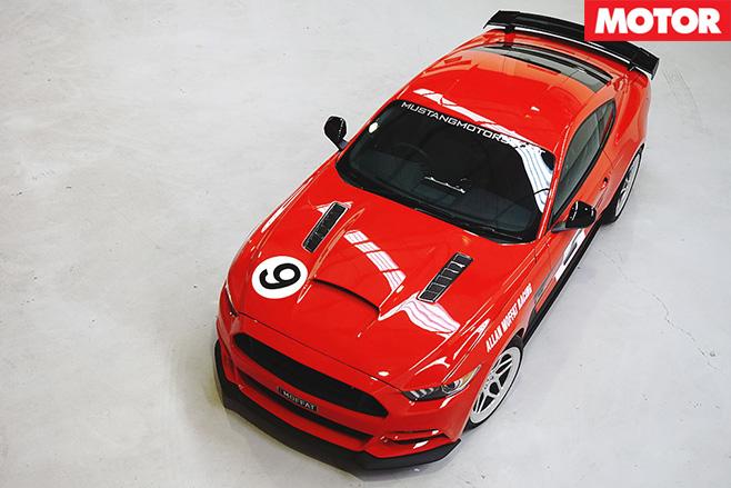 Ford Mustang Allan Moffat Edition top
