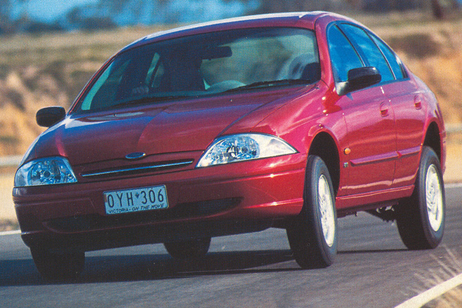 1998 Ford AU Falcon launches