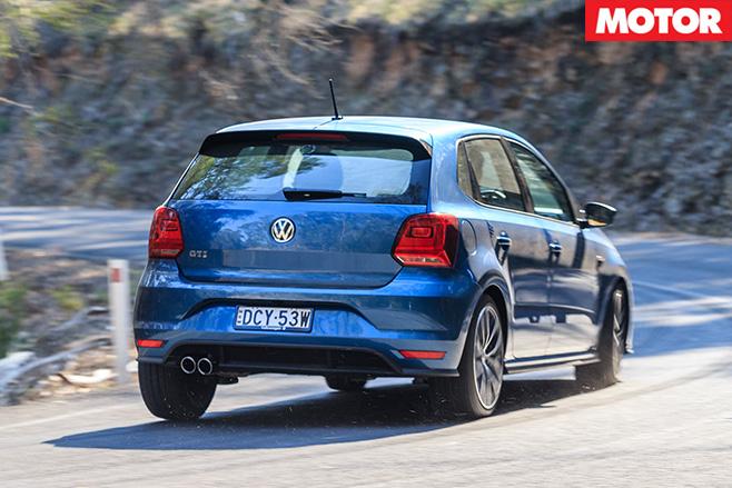 Volkswagen Polo GTI rear driving