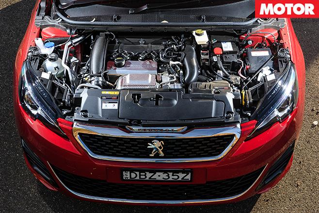 Peugeot 208 gti 270 engine
