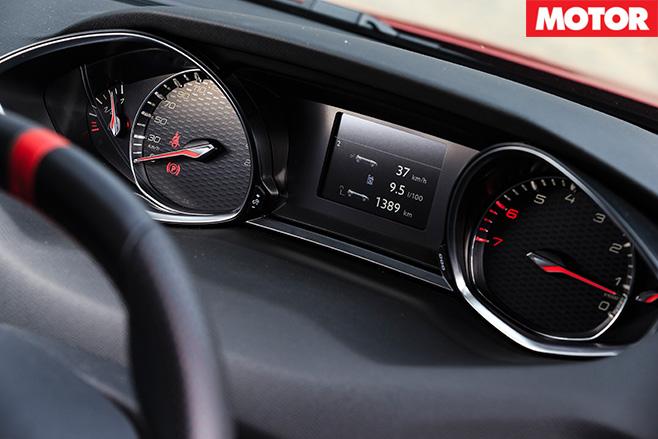 Peugeot 208 gti 270 rpms