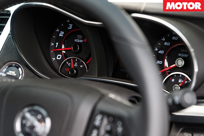 HSV Maloo steering and  dash