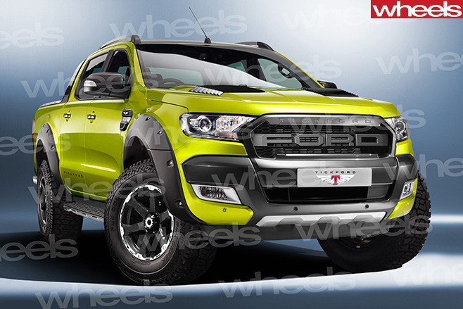Tickford returns with hot Ford Ranger | Wheels