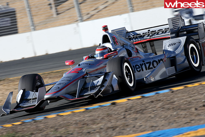 Indycar -race -car -driving