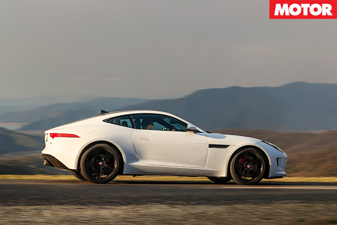 Jaguar f-type driving side