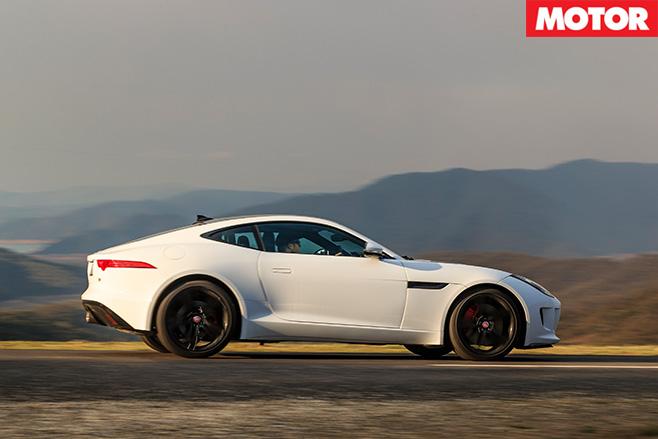 Jaguar f-type driving side